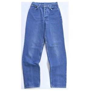 PATAGONIA High Waist Button Fly Mom Jeans